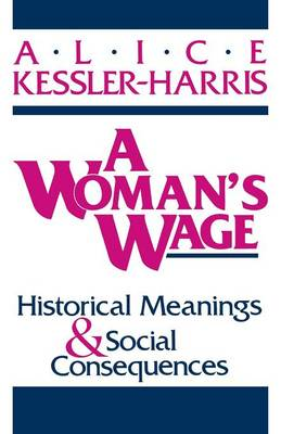 A Woman's Wage (Paperback)