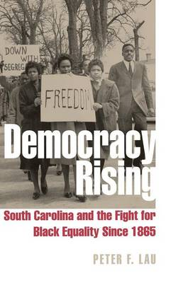 Democracy Rising: South Carolina and the Fight for Black Equality Since 1865 (Hardback)