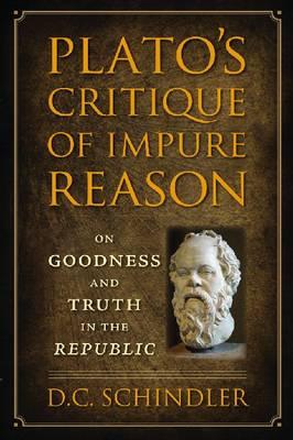 "Plato's Critique of Impure Reason: On Goodness and Truth in the ""Republic"" (Hardback)"