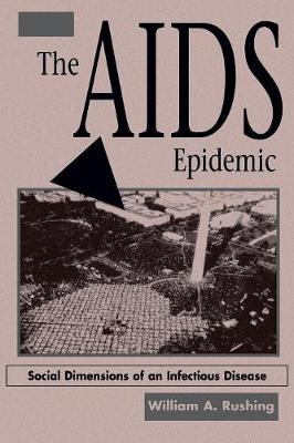 The AIDS Epidemic: Social Dimensions Of An Infectious Disease (Paperback)