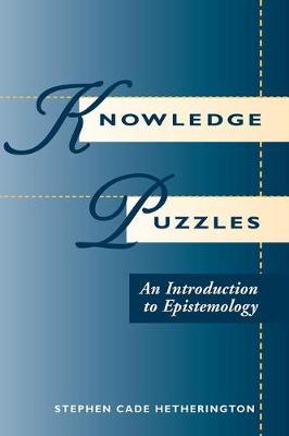 Knowledge Puzzles: An Introduction To Epistemology (Paperback)