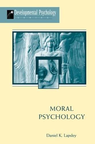Moral Psychology (Paperback)