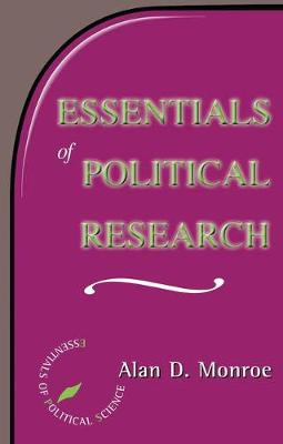 Essentials Of Political Research (Paperback)
