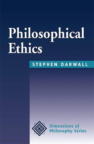 Philosophical Ethics: An Historical And Contemporary Introduction (Paperback)
