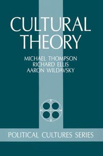 Cultural Theory (Paperback)