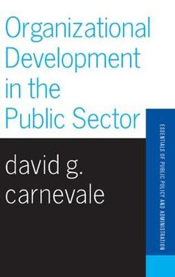 Organizational Development In The Public Sector (Paperback)