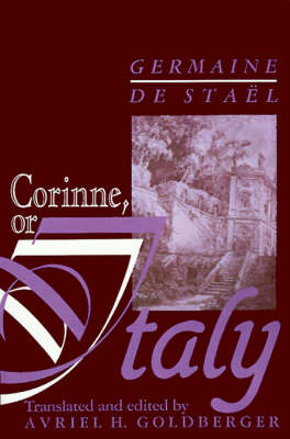 Corinne, or, Italy (Hardback)