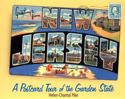 Greetings from New Jersey: A Postcard Tour of the Garden State (Paperback)