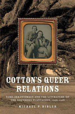 Cotton's Queer Relations: Same-sex Intimacy and the Literature of the Southern Plantation, 1936-1968 - American Literatures Initiative (Hardback)