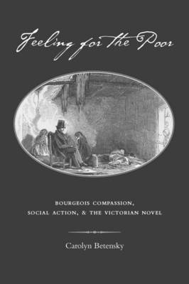 Feeling for the Poor: Bourgeois Compassion, Social Action and the Victorian Novel (Hardback)