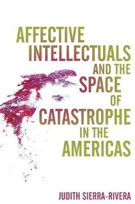 Affective Intellectuals and the Space of Catastrophe in the Americas - Global Latin/O Americas (Paperback)