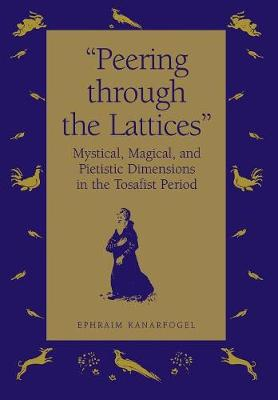 Peering Through the Lattices: Mystical, Magical and Pietistic Dimensions in the Tosafist Period (Hardback)