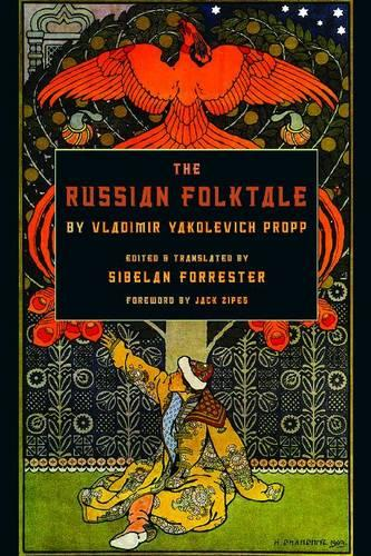 The Russian Folktale by Vladimir Yakolevich Propp (Paperback)