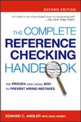 The Complete Reference Checking Handbook (Hardback)