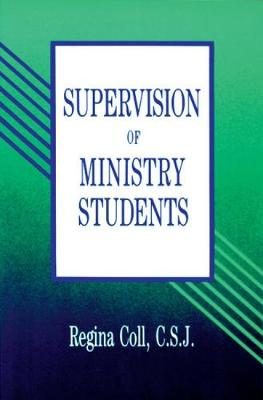 Supervision Of Ministry Students (Paperback)