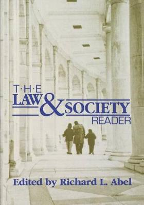 The Law and Society Reader (Paperback)