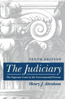 The Judiciary: Tenth Edition (Paperback)