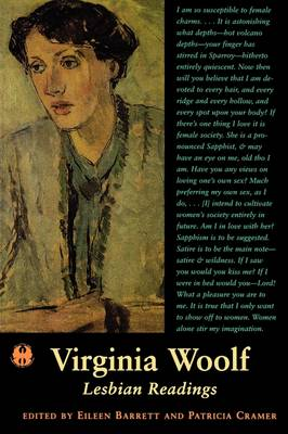 Virginia Woolf: Lesbian Readings - The Cutting Edge: Lesbian Life and Literature Series (Paperback)