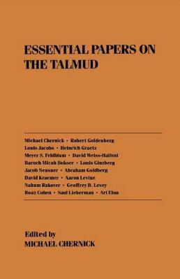 Essential Papers on the Talmud - Essential Papers on Jewish Studies (Hardback)