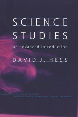 Science Studies: An Advanced Introduction (Paperback)