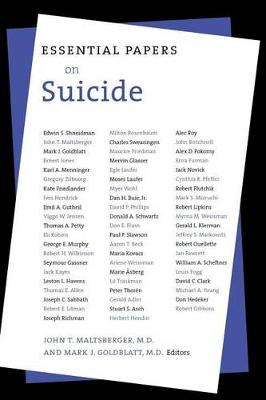 Essential Papers on Suicide - Essential Papers on Psychoanalysis (Paperback)