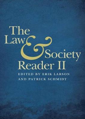 The Law and Society Reader II (Hardback)