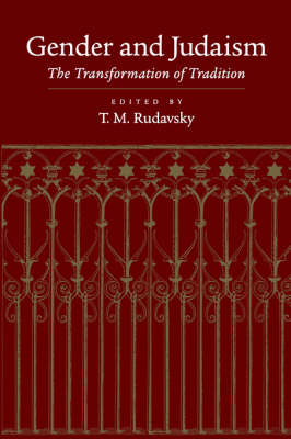 Gender and Judaism: The Transformation of Tradition (Paperback)