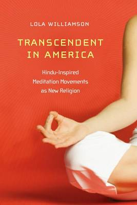 Transcendent in America: Hindu-Inspired Meditation Movements as New Religion - New and Alternative Religions (Hardback)