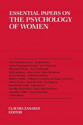 Essential Papers on the Psychology of Women - Essential Papers on Psychoanalysis (Paperback)