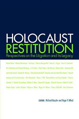 Holocaust Restitution: Perspectives on the Litigation and Its Legacy (Hardback)