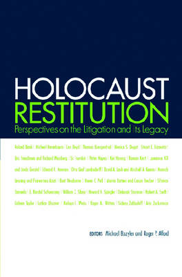 Holocaust Restitution: Perspectives on the Litigation and Its Legacy (Paperback)
