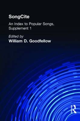 SongCite: An Index to Poular Songs, Supplement 1 (Hardback)
