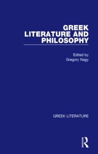 Greek Literature and Philosophy: Greek Literature (Hardback)