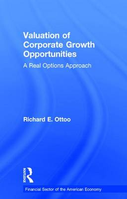 Valuation of Corporate Growth Opportunities: A Real Options Approach - Financial Sector of the American Economy (Hardback)