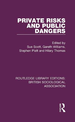 Private Risks and Public Dangers - Routledge Library Editions: British Sociological Association 21 (Hardback)