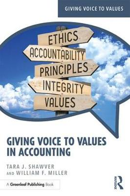 Giving Voice to Values in Accounting - Giving Voice to Values (Paperback)