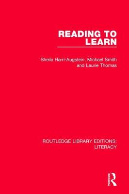 Reading to Learn - Routledge Library Editions: Literacy (Paperback)