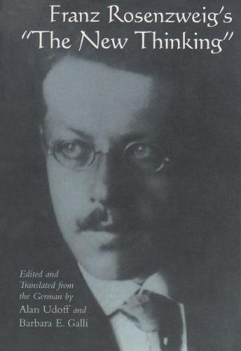 Rosenzweig's the New Thinking - Library of Jewish Philosophy (Paperback)