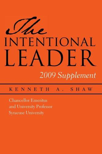 Intentional Leader 2009 Supplement (Paperback)