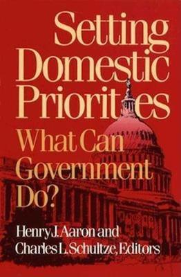 Setting Domestic Priorities: What Can Government Do? (Paperback)