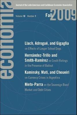 Economia: Fall 2009: Journal of the Latin American and Caribbean Economic Association - Economia (Paperback)