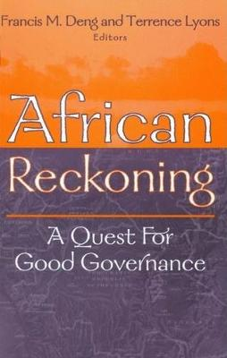 African Reckoning: A Quest for Good Governance (Paperback)