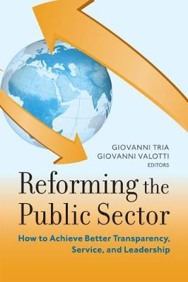 Reforming the Public Sector: How to Achieve Better Transparency, Service, and Leadership - Brookings-SSPA Series on Public Administration (Paperback)