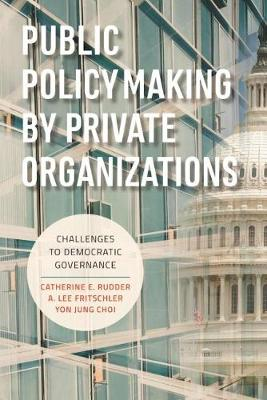 Public Policymaking by Private Organizations: Challenges to Democratic Governance (Paperback)