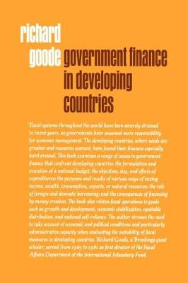Government Finance in Developing Countries (Paperback)