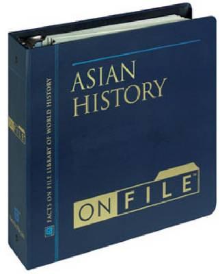 Asian History on File (Hardback)
