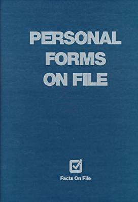 Forms on File 1998 Edition (Hardback)