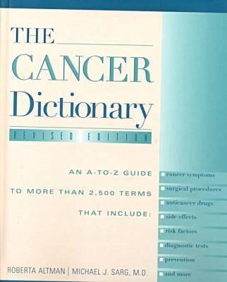 Cancer Dictionary (Hardback)