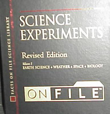 Science Experiments on File, Revised Edition, 2-Vo (Hardback)