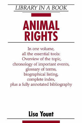 Animal Rights - Library in a Book (Hardback)
